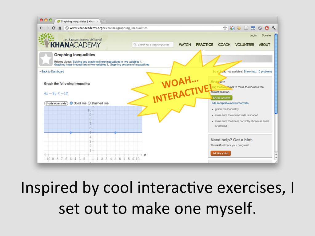 Inspired by cool interacEve exercis...
