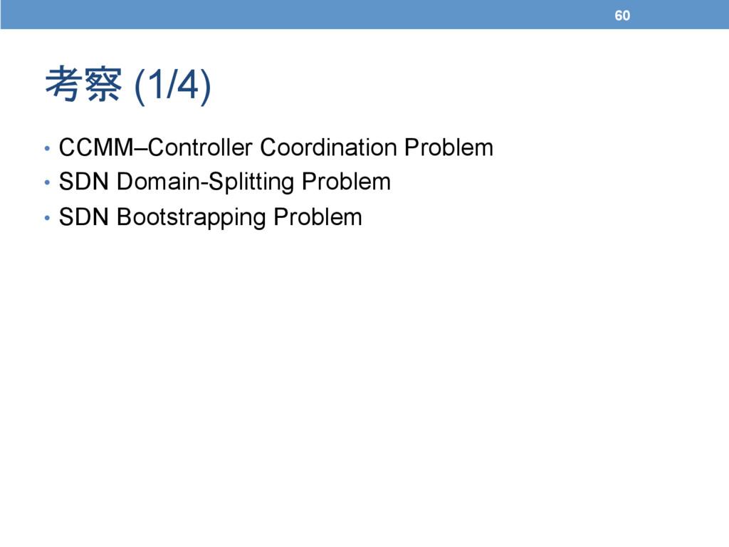 考察 (1/4) • CCMM–Controller Coordination Prob...