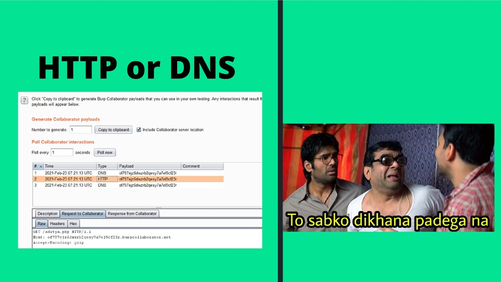 HTTP or DNS