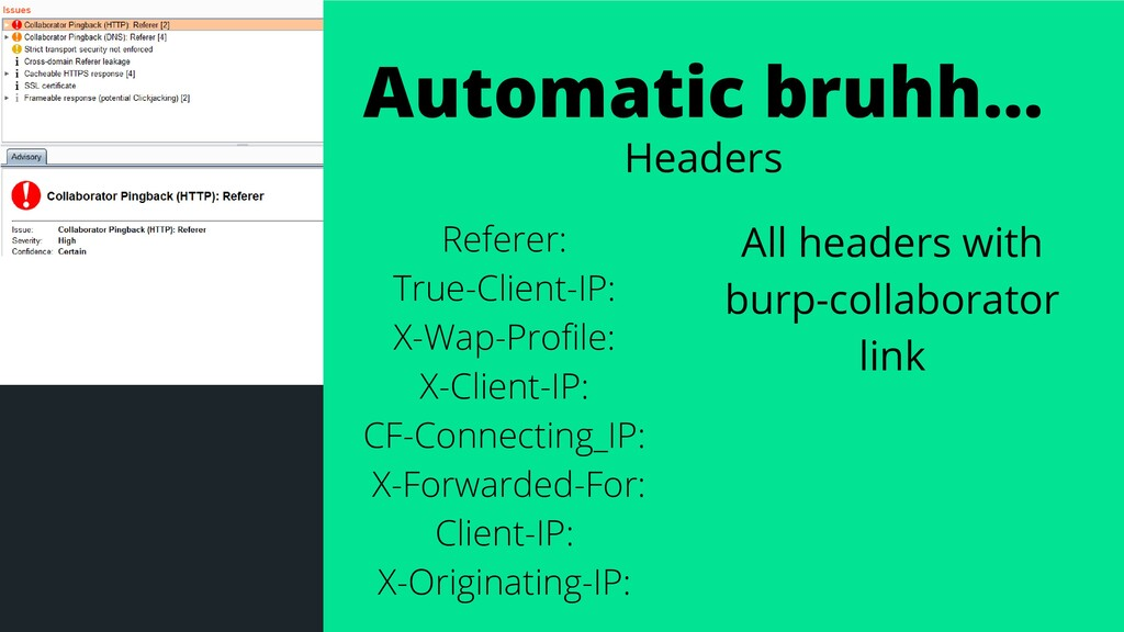 Automatic bruhh... Headers Referer: True-Client...