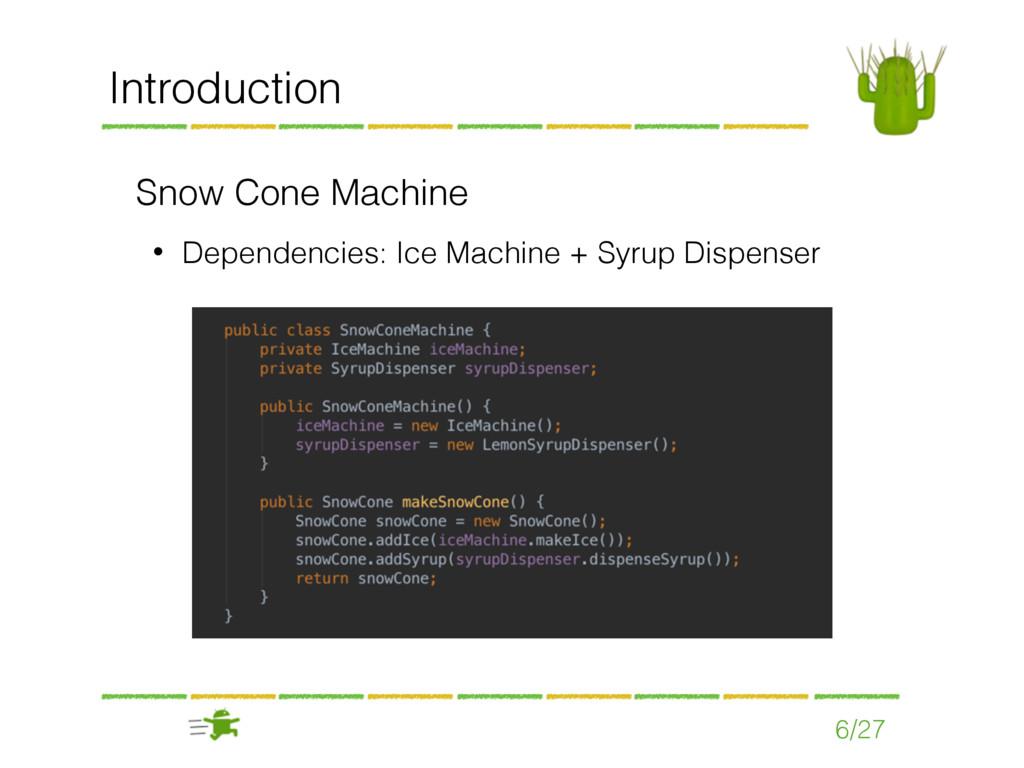 Snow Cone Machine • Dependencies: Ice Machine +...