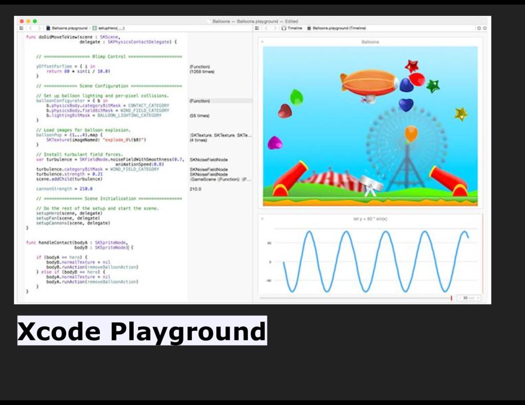 Xcode Playground