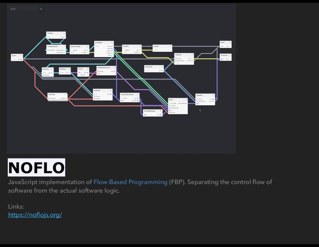 JavaScript implementation of Flow-Based Program...