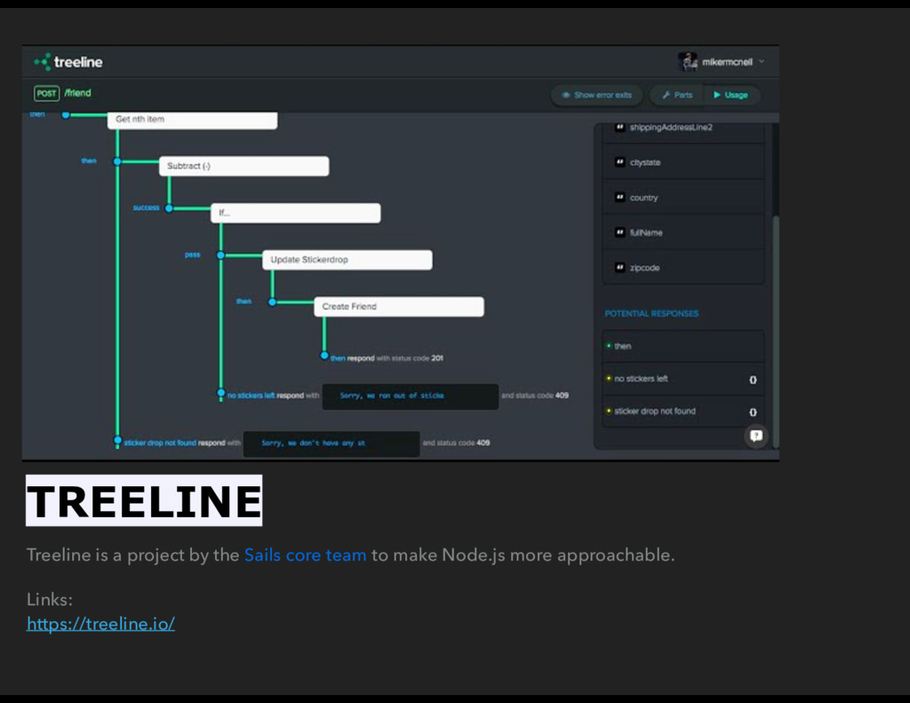 Treeline is a project by the Sails core team to...