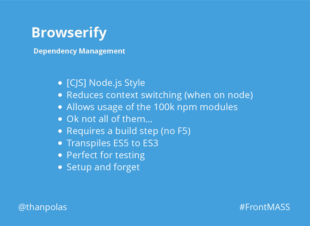 Browserify Browserify Dependency Management Dep...