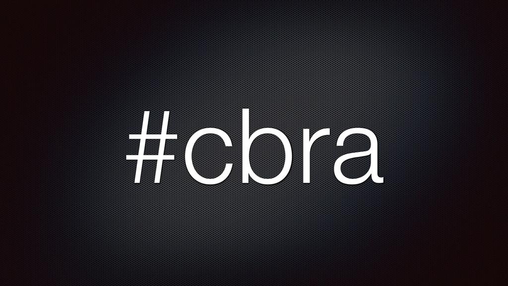 #cbra