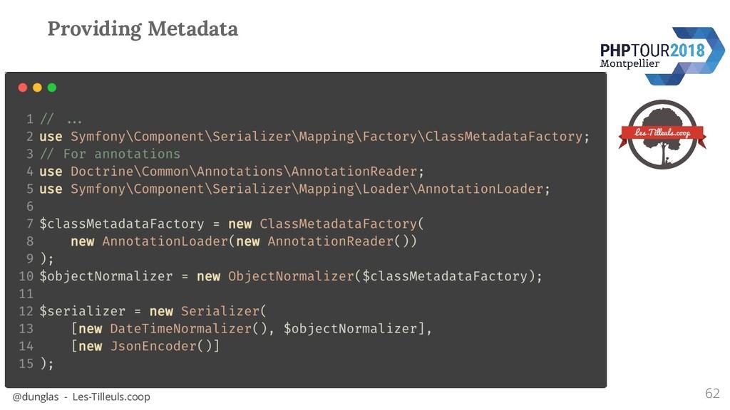 @dunglas - Les-Tilleuls.coop Providing Metadata...
