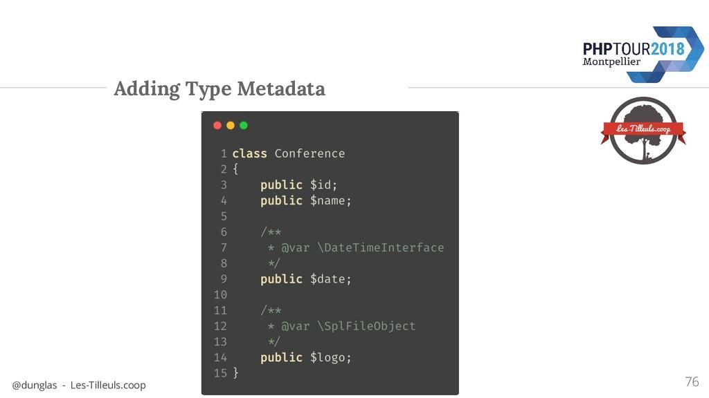 @dunglas - Les-Tilleuls.coop Adding Type Metada...