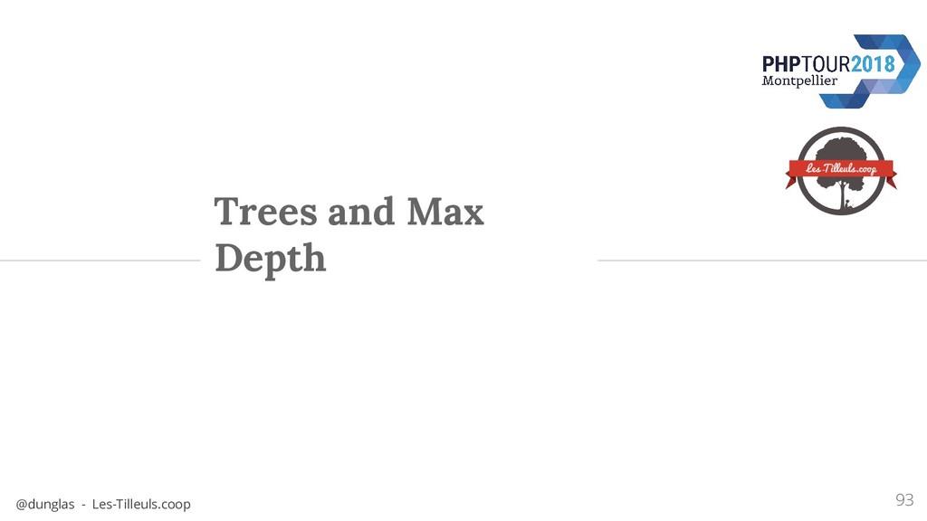 @dunglas - Les-Tilleuls.coop Trees and Max Dept...
