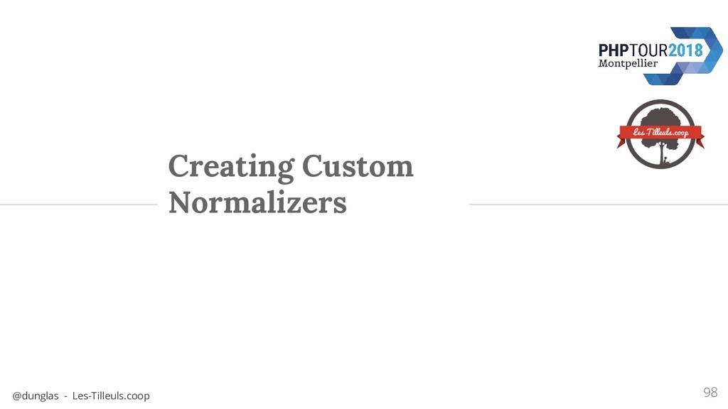 @dunglas - Les-Tilleuls.coop Creating Custom No...