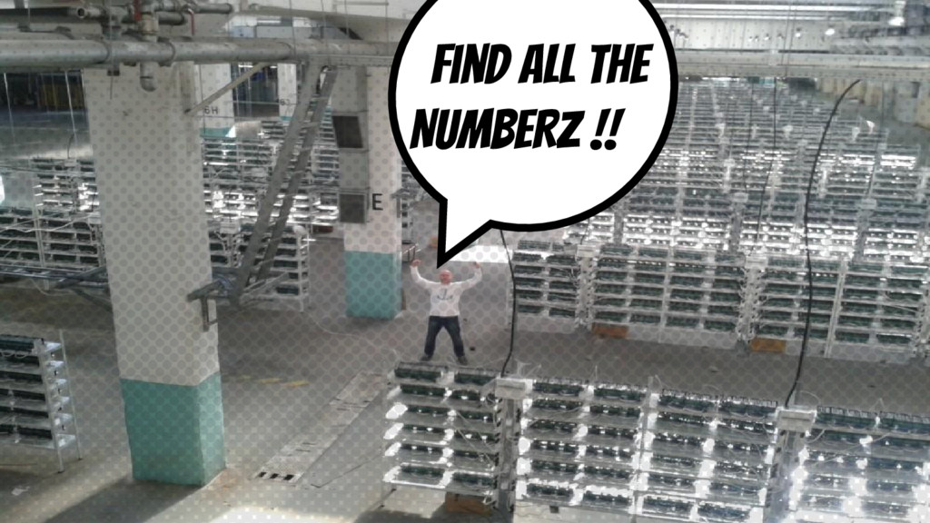 Find all the NUMBERZ !!