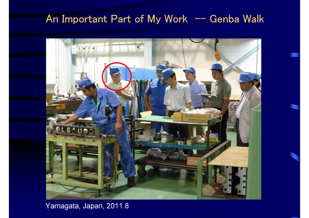 An Important Part of My Work -- Genba Walk Yama...