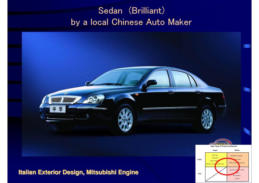 Italian Exterior Design, Mitsubishi Engine Ital...