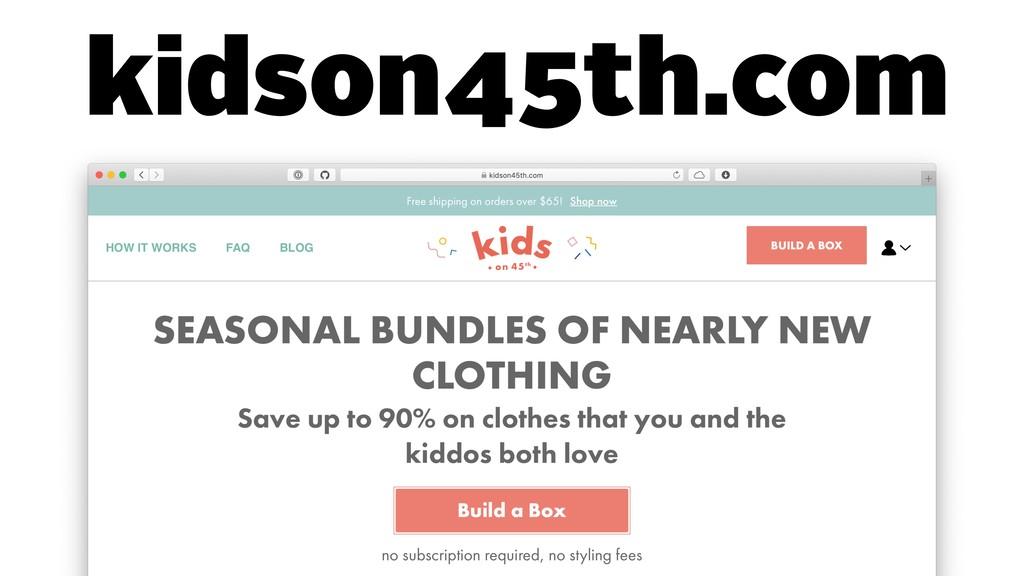 kidson45th.com