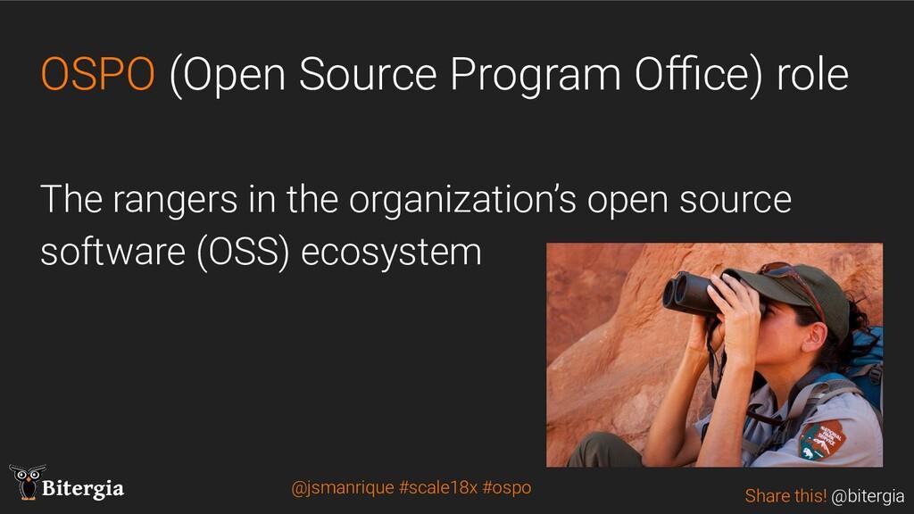 Share this! @bitergia Bitergia OSPO (Open Sourc...