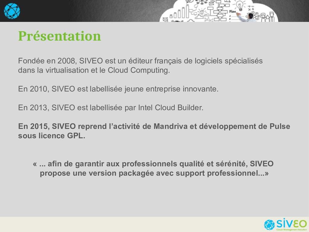 Fondée en 2008, SIVEO est un éditeur français d...