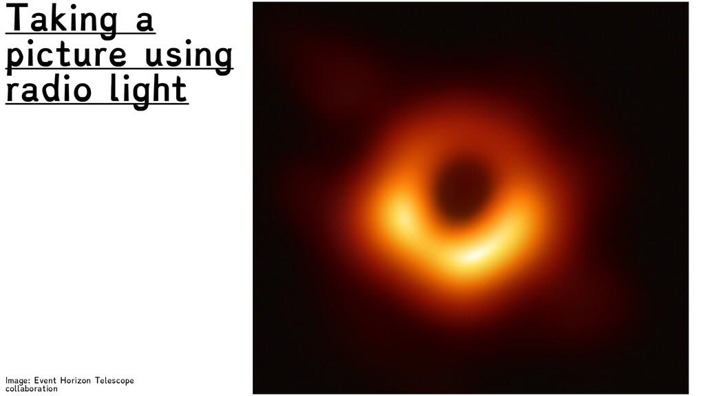 Image: Event Horizon Telescope collaboration Ta...