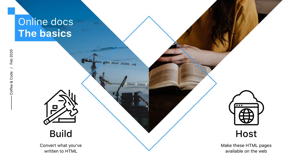 Coffee & Code / Feb 2020 Online docs The basics...