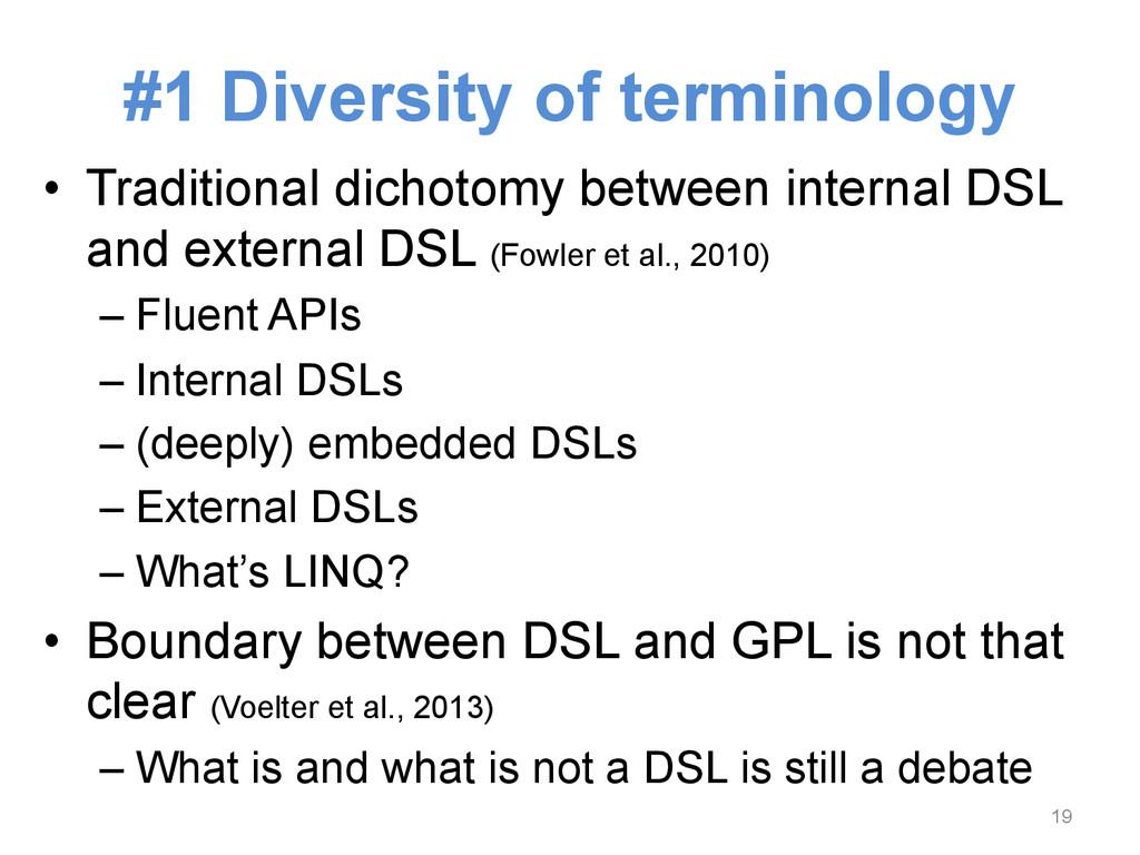 • Traditional dichotomy between internal DSL a...