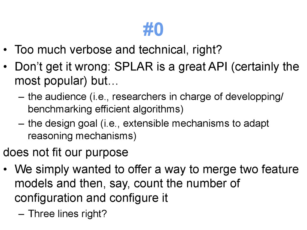 #0 • Too much verbose and technical, right? •...