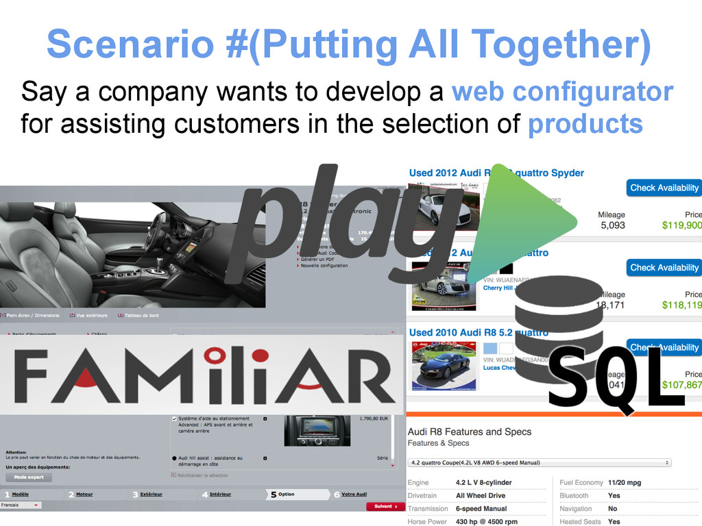 Scenario #(Putting All Together) Say a company ...