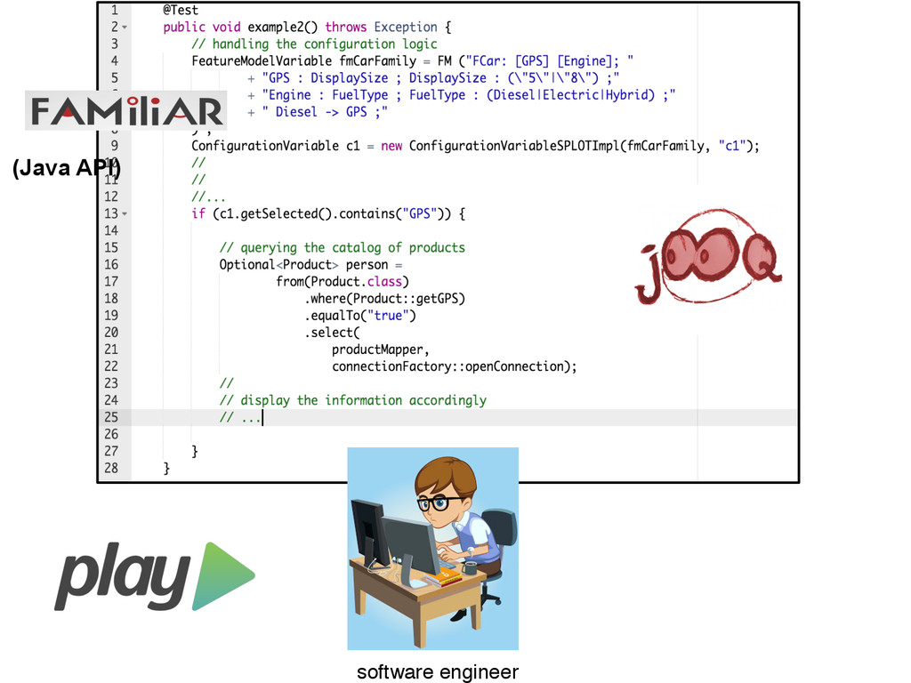 software engineer (Java API)