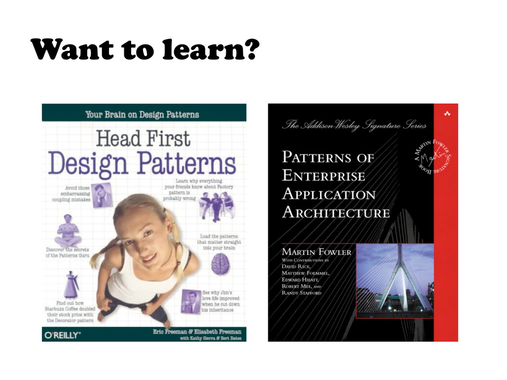 Want to learn?