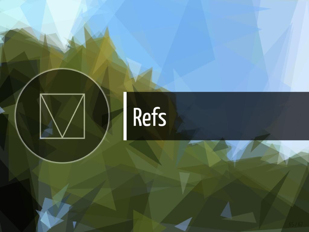 Refs 65 / 67
