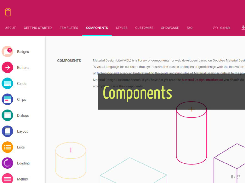 Components 8 / 67