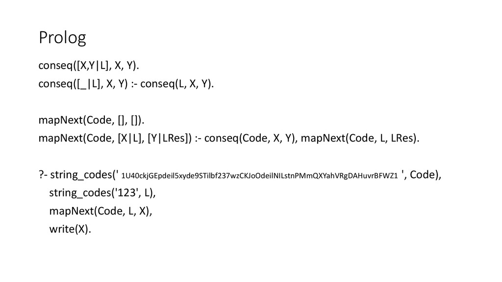conseq([X,Y|L], X, Y). conseq([_|L], X, Y) :- c...