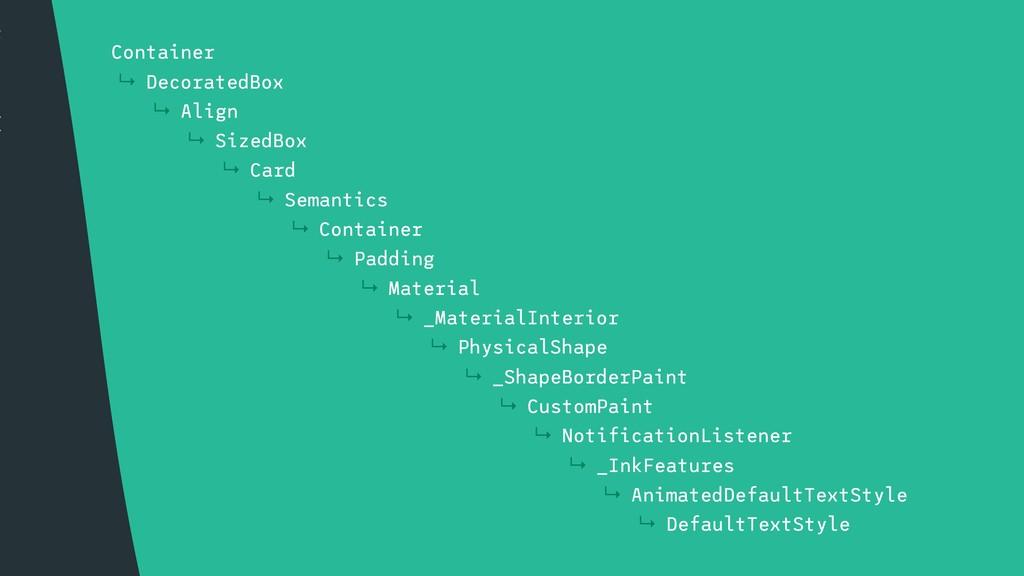 t { ↳ Container ↳ DecoratedBox ↳ Align ↳ SizedB...