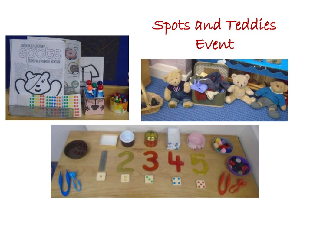 Spots and Teddies Event