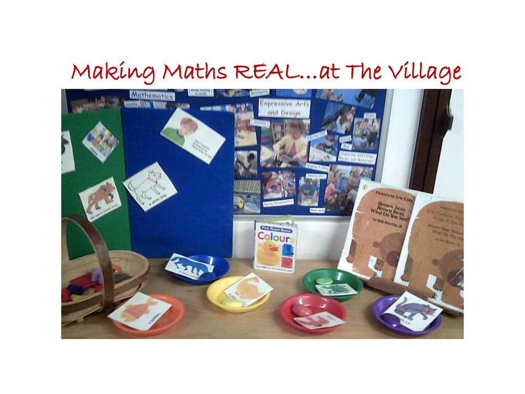 Making Maths REAL…at The Village