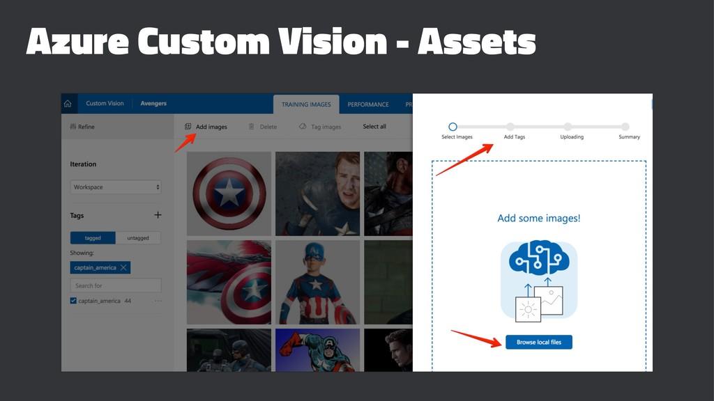 Azure Custom Vision - Assets