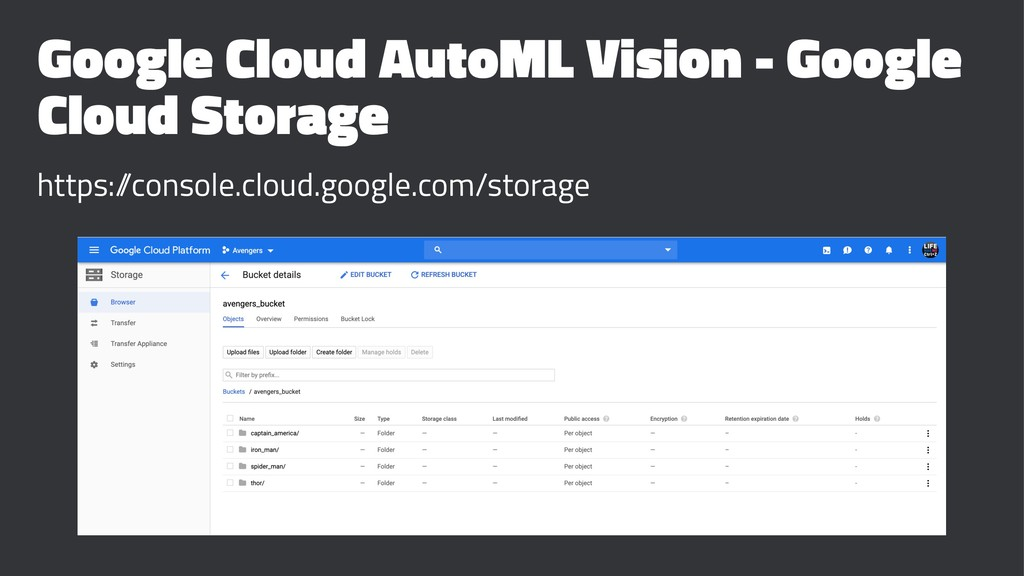 Google Cloud AutoML Vision - Google Cloud Stora...