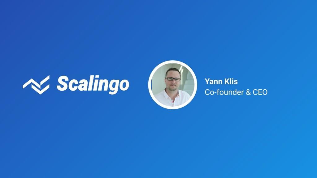 Yann Klis Co-founder & CEO
