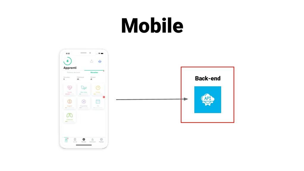 Mobile Back-end