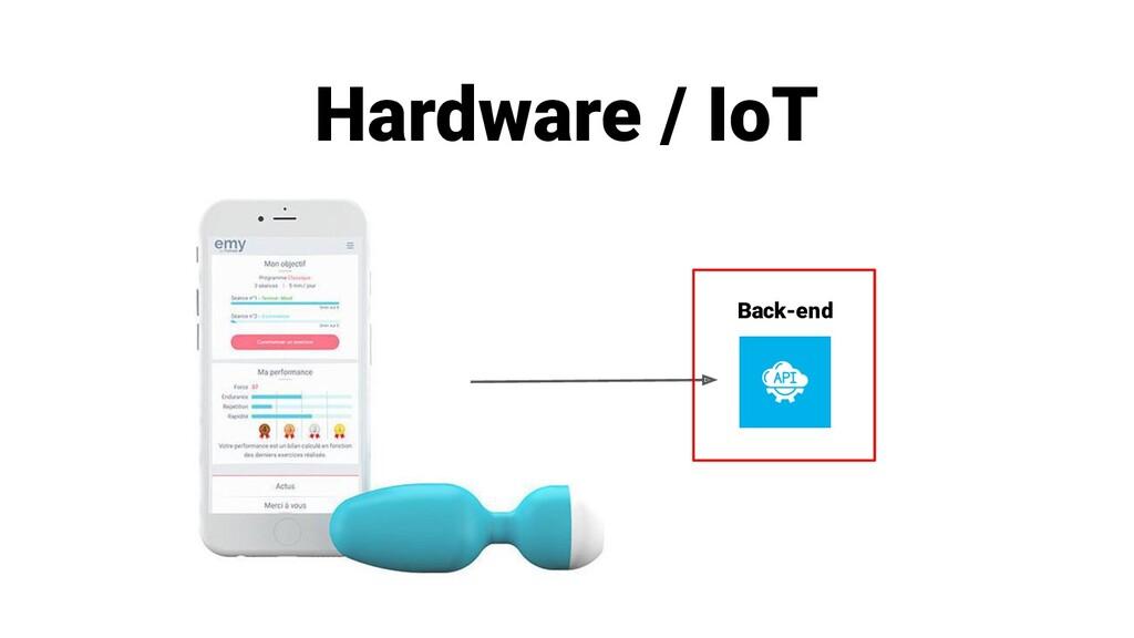 Hardware / IoT Back-end