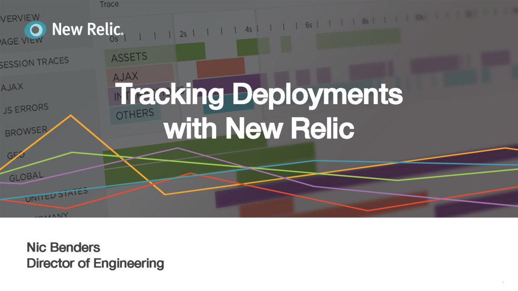 Tracking Deployments! with New Relic! 1 ! Nic B...