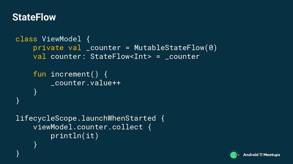 class ViewModel { private val _counter = Mutabl...