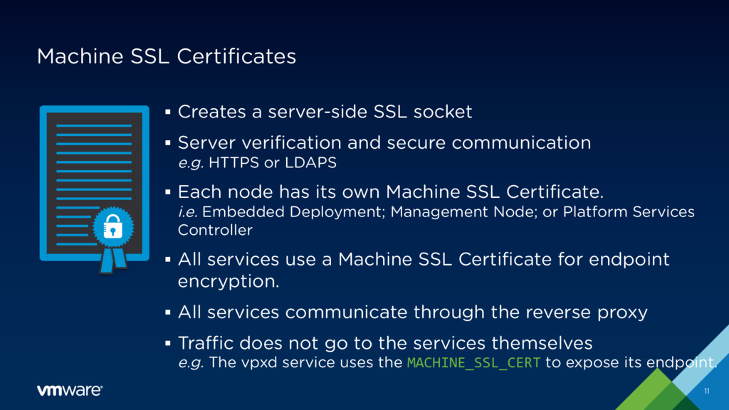 Machine SSL Certificates § Creates a server-sid...