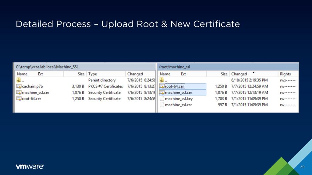 Detailed Process – Upload Root & New Certificat...