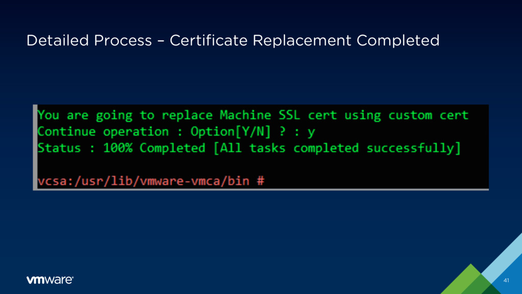 Detailed Process – Certificate Replacement Comp...