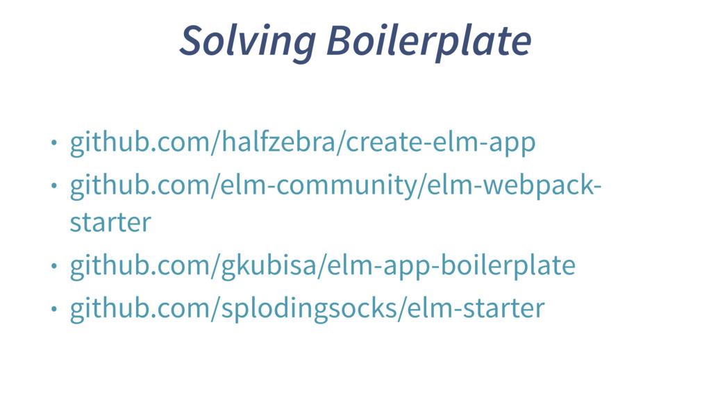 Solving Boilerplate • github.com/halfzebra/crea...