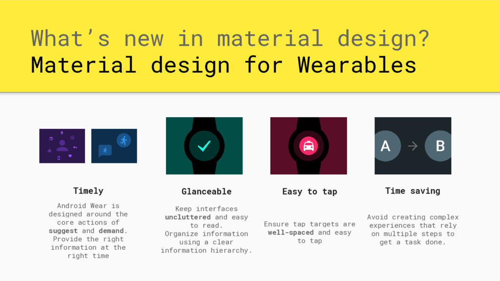 What's new in material design? Material design ...
