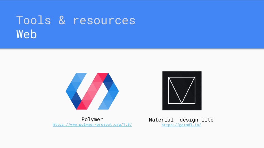 Tools & resources Web Polymer https://www.polym...