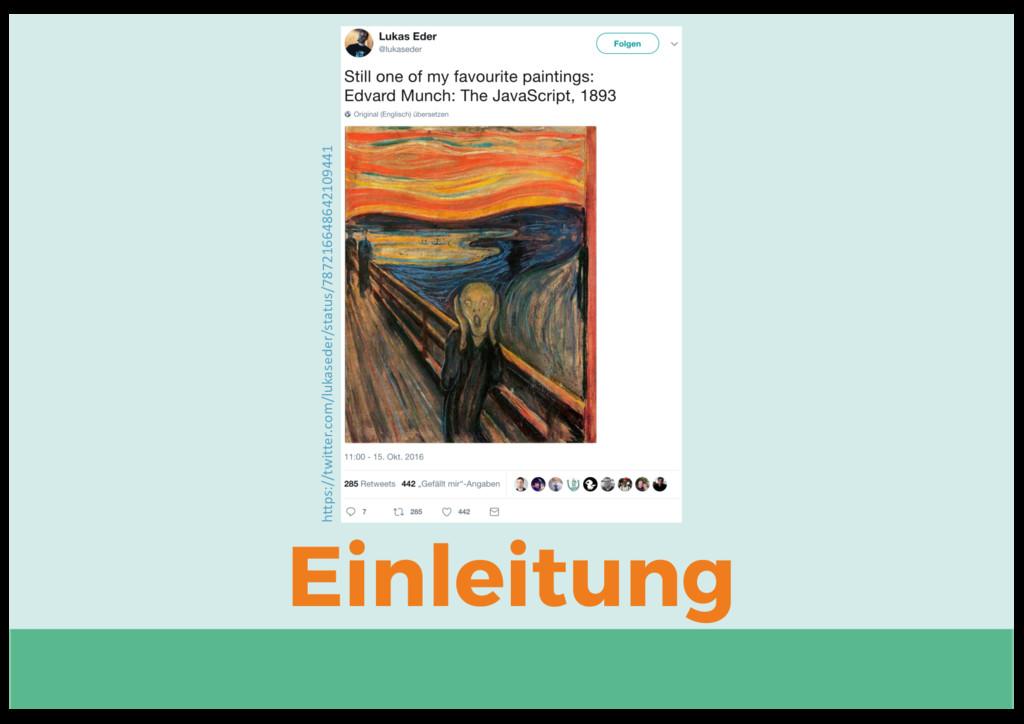 Einleitung https://twitter.com/lukaseder/status...