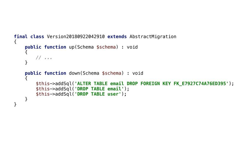 final class Version20180922042910 extends Abstr...