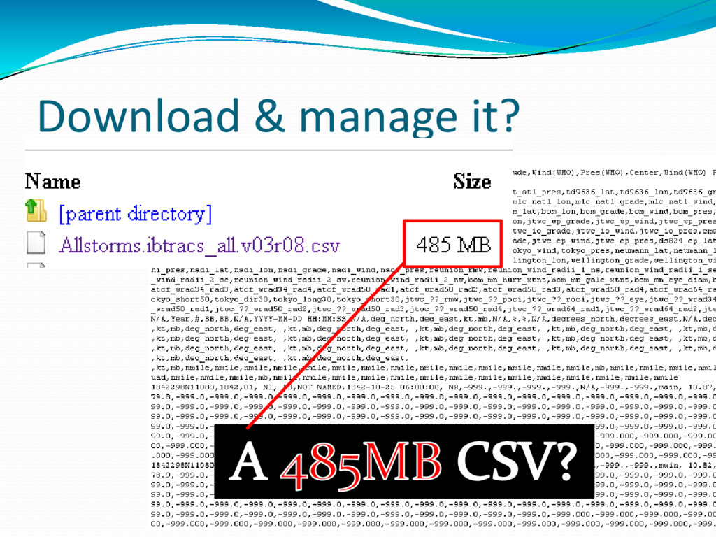 Download & manage it?
