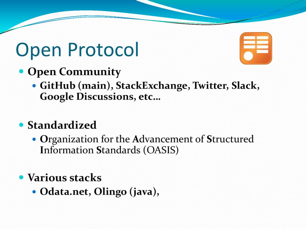 Open Protocol  Open Community  GitHub (main),...